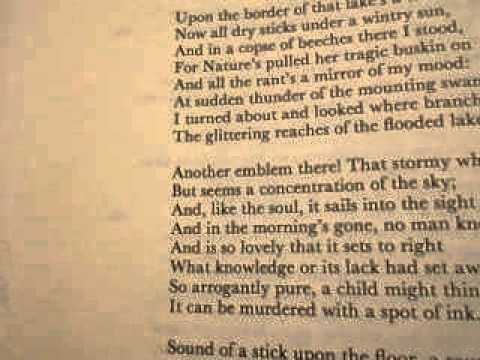 Coole and Ballylee, 1931 by W. B. Yeats