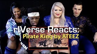 Riverse Reacts Pirate King By Ateez M V Reaction