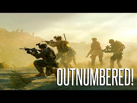 OUTNUMBERED! - ArmA 3 Patrol Ops