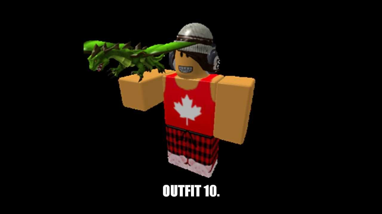 ROBLOX OUTFITS. *2013* - YouTube