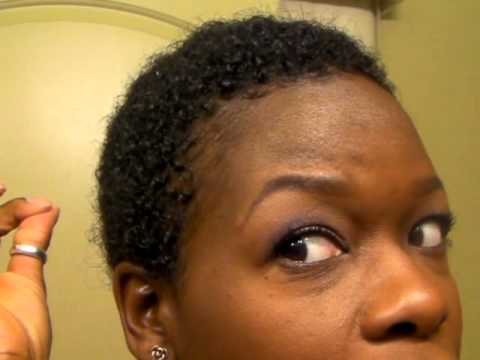 3 Months After The Big Chop TWA Hair Growth YouTube