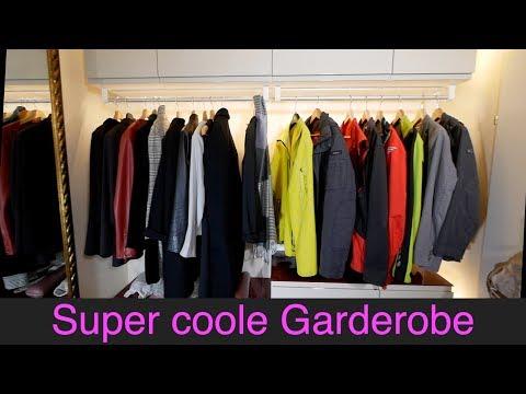 Feine Garderobe aus Ikea-Küchenschränken selber machen