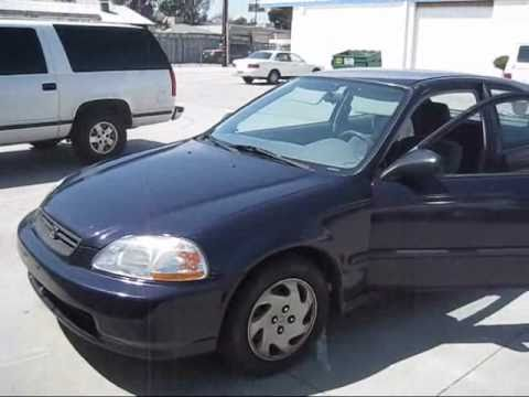 1997 Honda Civic Dx Hatchback Car For Sale Youtube