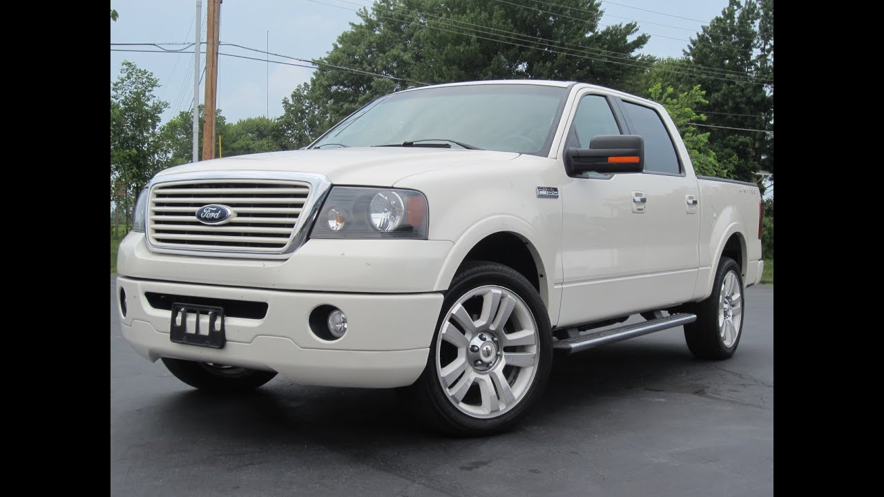 2008 Ford F150 Lariat For Sale 2008 Ford F150 LIMITED 4x4 SUPER CREW TRUCK SOLD!!! LOADED!! - YouTube