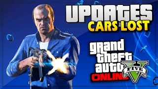 GTA 5 Online Update Money Lost & Cars Hacked - GTA Online PS4 - (GTA V Gameplay)