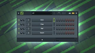 MAKING A CRAZY BEAT WITH THE 4 DEFAULT DRUMS IN FL STUDIO!