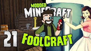 Minecraft: FOOLCRAFT | #21: BEER TIME FOOLZ [Modded Minecraft]
