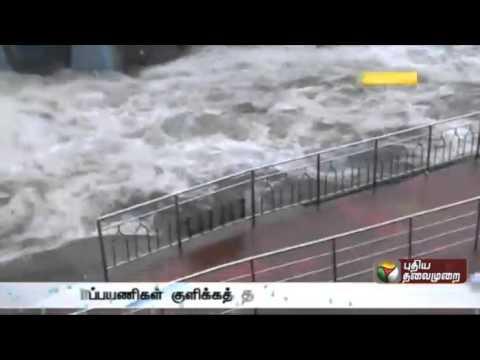 Ban for bath in Courtallam falls