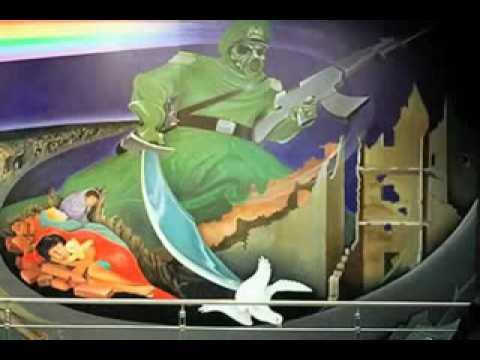 Denver international airport conspiracy youtube for Denver airport mural conspiracy