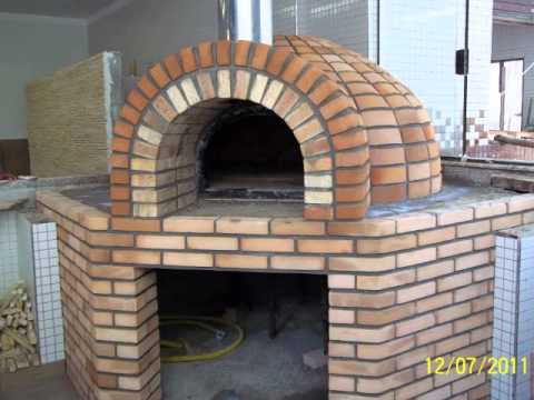 Forno de pizza de tijolo