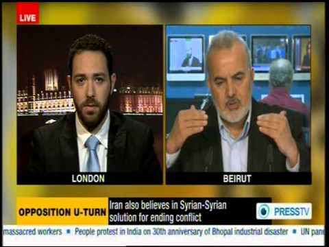 Debating Syria with a hard-line Islamist