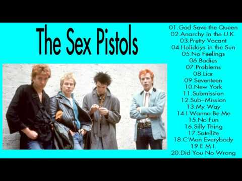 The Sex Pistols Greatest Hits Collection || The Very Best of The Sex Pistols