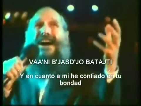 Mordechai Ben David-vaa´ni b´jasd´jo letra español