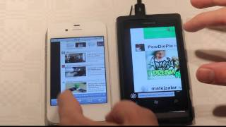 Apple iPhone 4S vs. Nokia Lumia 800 Browser Speed Test Part 1 (HD)! Hands-On Review!