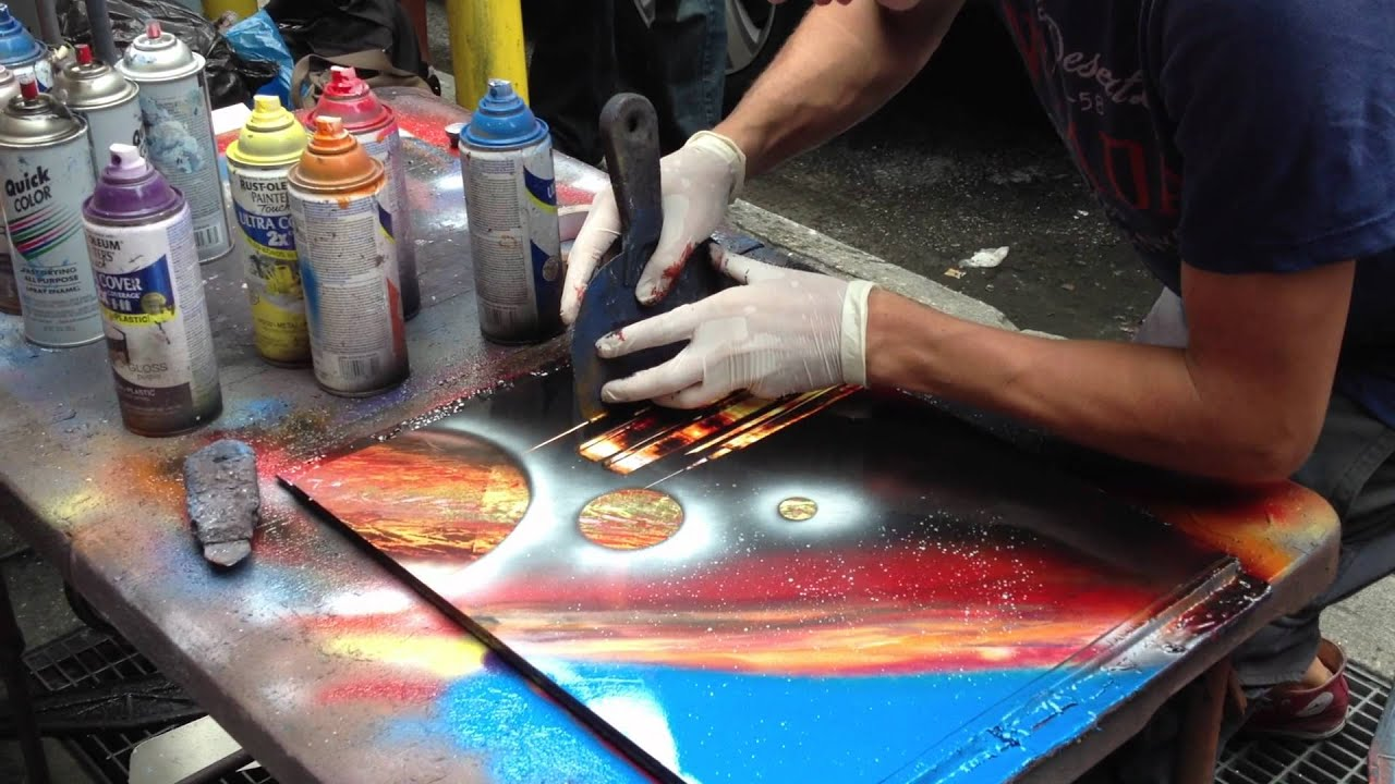 Nyc Spray Paint Art For Sale