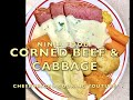 Corned Beef with Cabbage Ninja Foodi one pot Cheekyricho Cooking Youtube Video Recipe ep.1,392