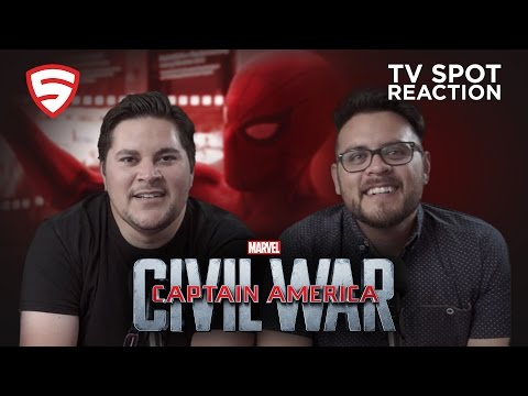 Captain America: Civil War TV Spot Reaction