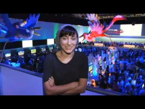[E3 2011] Zelda Williams at the Nintendo Booth