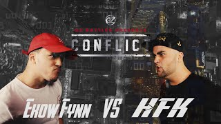 KOTD - Rap Battle - Ekow Fynn vs HFK | #GZ