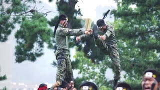 ROK Ministry Of National Defense - Army Special Warfare Force Extreme Taekwondo Highlights [1080p]