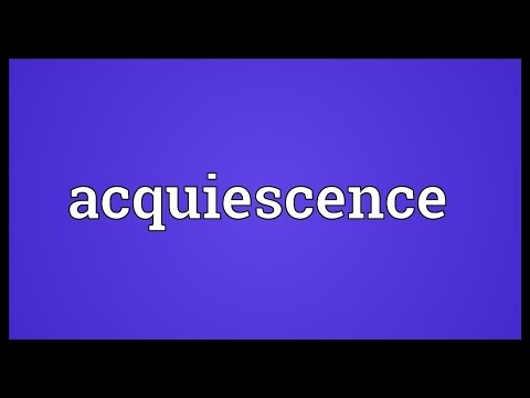 Header of acquiescence