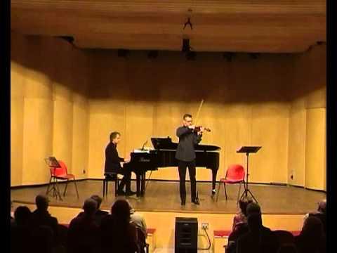 Bazzini: Traviata Fantasy; Piercarlo Sacco, vl.; Luca Schieppati, pf.