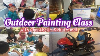 Outdoor Painting Class | School Holiday | Brunei | ArRayyan Tube