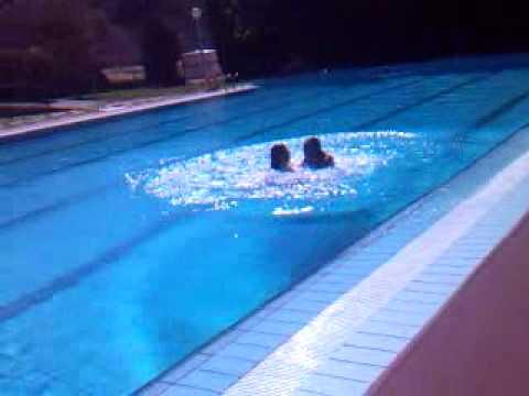 Caiguda piscina C&L. en Vinaixa