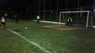 Autobor 2x2 2x1 Unipam - Polêmica no último pênalti.  A bola bateu na trave ou no ferro de suporte?