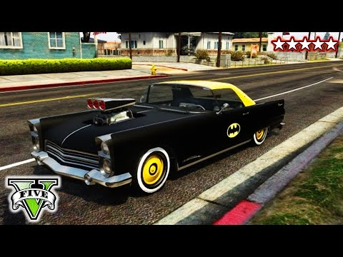 GTA 5 I'M BATMAN | GTA Robin, The Joker, Ghost Rider and Smoowv | GTA Batman!