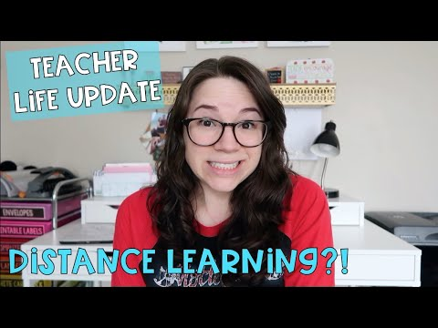 Life Update:  Distance Learning?