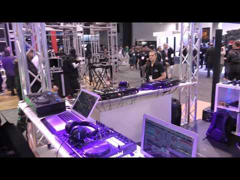 NAMM 2018: Gemini DJ Booth Walkthrough (Vintage Gemini DJ Gear!)