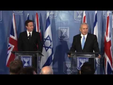 Press Conference: PM Netanyahu and British PM David Cameron