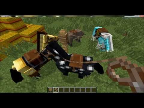 Minecraft 1.6 basic overview and how to get it (HORSES. DONKEYS. AND MORE!)