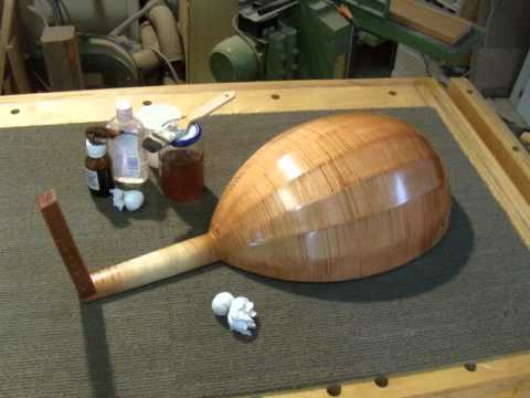 Building a 5C Medieval Lute by Yaron Naor (Playing Eitan Hoffer)