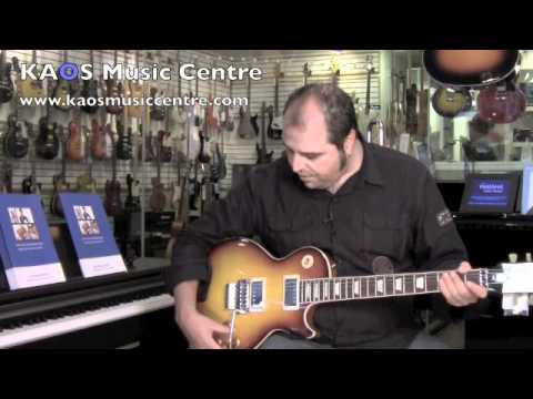 Gear Review - Gibson Alex Lifeson Axcess Les Paul