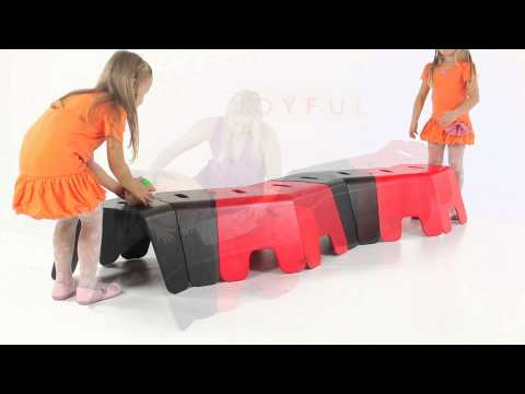 New and fun children furniture from Tarmeko LPD! Moose is a practical and playful bench for children