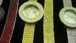 Mr Chris Da Jeweler Custom Lab Made Techno Pave Watch & Ice Tray Band ( Video No : W03966 )