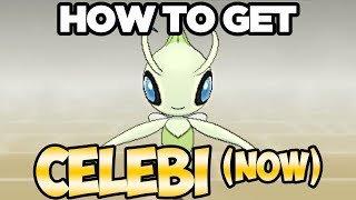 RIGHT NOW - How to Get Celebi In Pokemon Ultra Sun and Moon / Pokemon Sun and Moon w/ Gold & Silver