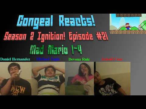 Congeal Reacts! Season 2 Ignition! Episode #21 [mad Mario 1-4] video