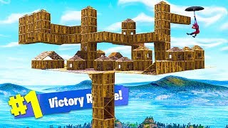 BUILDING A NEW CITY IN THE SKY! - Fortnite