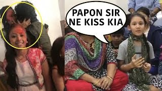 Minor Girl Reveals The Real Story Behind Papon Kissing Him Abruptly In Live Facebook Video