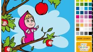 Маша и Медведь: Вкусные яблоки
