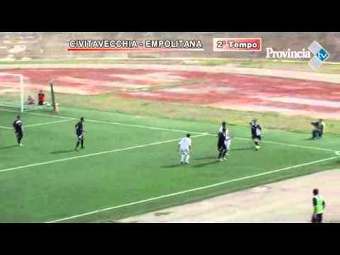 Calcio, telecronaca Civitavecchia-Empolitana - 2 tempo