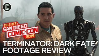 Terminator: Dark Fate Exclusive Footage Review - SDCC 2019