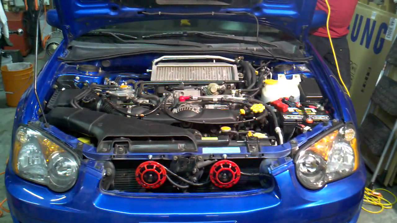 Subaru Impreza Wrx Sti Hella Supertone Horns