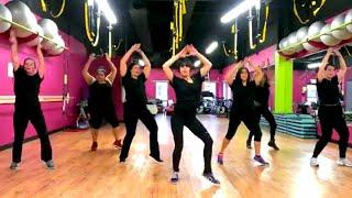 """Mark Ronson & Bruno Mars """"Uptown Funk"""" - Zumba Routine - Choreo by Mari"""