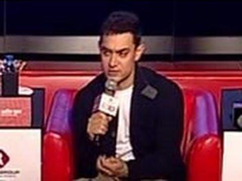 Making film on Mahabharata a dream project: Aamir at Agenda Aaj Tak