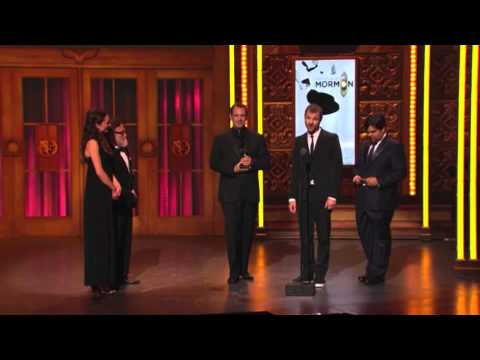 Tony Awards 2011 Acceptance Speeches - Best Book of a Musical - The Book of Mormon