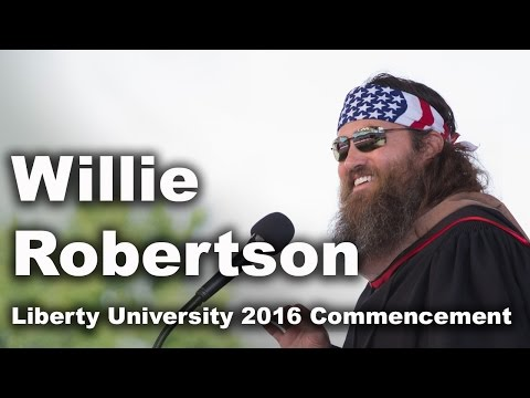 Commencement 2016 - Willie Robertson